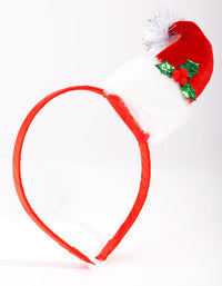 Red Santa Hat Headband - link has visual effect only