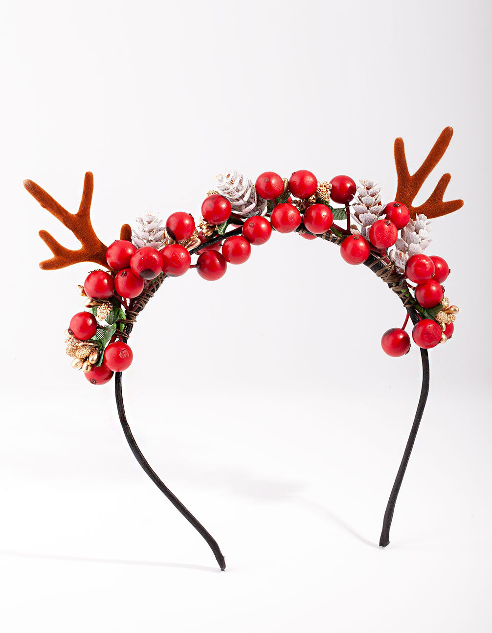 Reindeer Wreath Headband