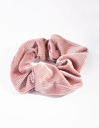 Pink Textured Scrunchie - link has visual effect only