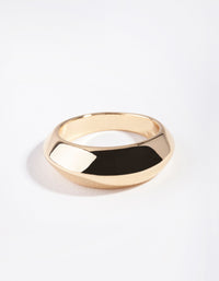 Real Gold Plated Graduating Ring - link has visual effect only