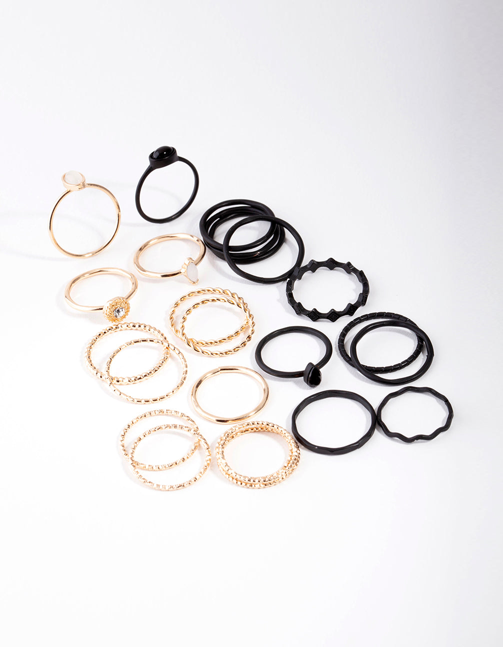 Matte Textured 24x12 Pack Rings