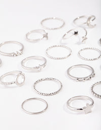 Silver Celestial Ring 24 Pack - link has visual effect only