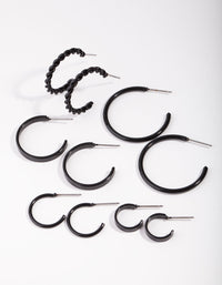 Matte Sleeper 6-Pack Earring - link has visual effect only