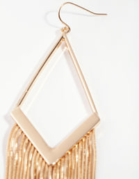 Gold Diamond Snakechain Earrings - link has visual effect only