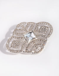 Silver Vintage Broach - link has visual effect only