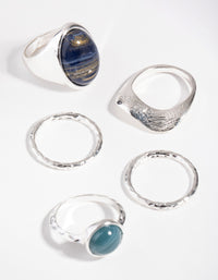 Silver State Acrylic 3-Pack Rings - link has visual effect only