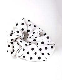 Fabric Polkadot Scrunchie - link has visual effect only