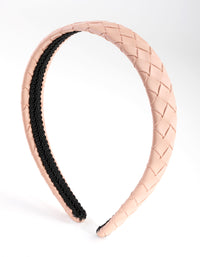Fabric Flat Plaited Alice Band - link has visual effect only