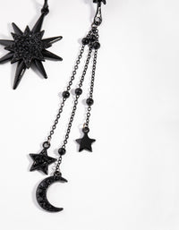 Matte Mismatch Celestial Earrings - link has visual effect only