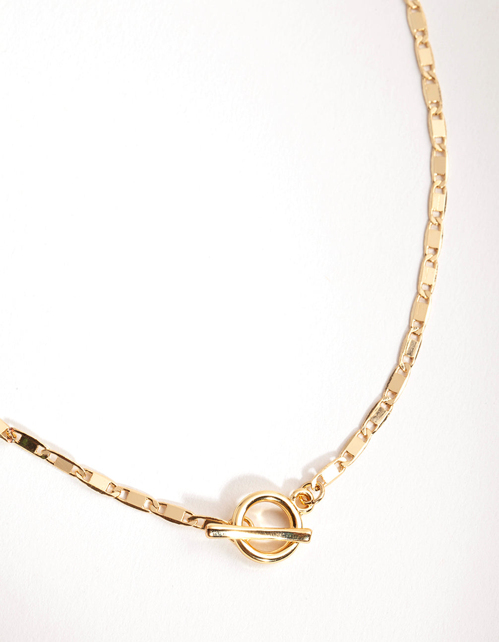 Gold Plated Mariner T&O Necklace