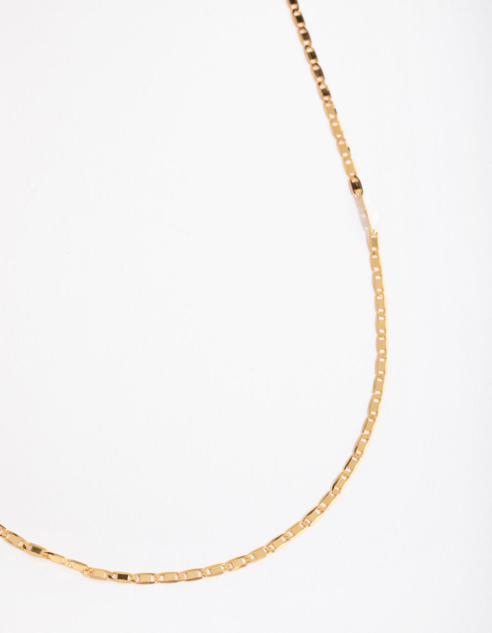 Gold Plated Sterling Silver Mariner Necklace