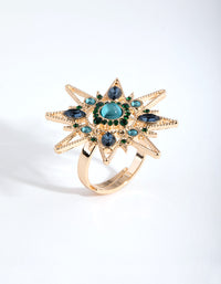 Gold Statement Star Ring - link has visual effect only
