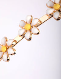 Enamel Daisy Headband - link has visual effect only
