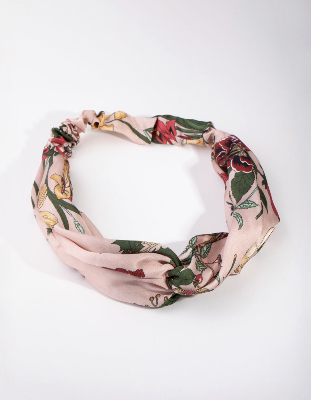 Fabric Floral Stretch Turban Headband
