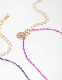 Gold Paw Mood Best Friend Necklace - link has visual effect only