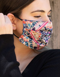 Paisley 100% Silk Mask - link has visual effect only