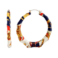 Fabric Covered Bamboo Hoop