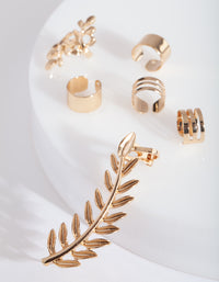 Gold Leaf 6 Pack Ear Stack - link has visual effect only