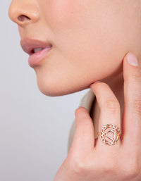 Gold Throat Chakra Ring - link has visual effect only