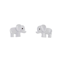 Mini Elephant Stud Earring