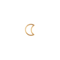 Gold Celestial Moon Cartilage Earring - link has visual effect only