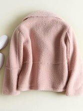 Load image into Gallery viewer, 【Quality】Fleece Solid Color Short Jacket-BelleChloe-o1o.store