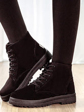 Load image into Gallery viewer, [Quality] Fashion Martin Boots Autumn Winter Suede Ankle Boots-BelleChloe-o1o.store
