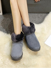 Load image into Gallery viewer, Large Size Classic Couple Waterproof High Cotton Boots-BelleChloe-o1o.store