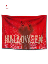 Load image into Gallery viewer, Halloween Bloody Silhouette Siulok Rmx Print Removable Wall Tapestry-BelleChloe-o1o.store