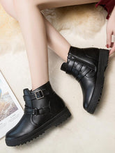 Load image into Gallery viewer, [Quality] Fashion Spring Autumn Patent PU Leather Platform Women Boots-BelleChloe-o1o.store