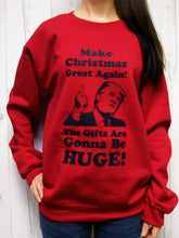 Load image into Gallery viewer, Letter Print Christmas Women'S Sweater-BelleChloe-o1o.store