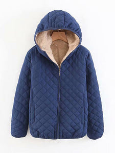 【Quality】Solid Color Hooded Casual Coats-BelleChloe-o1o.store