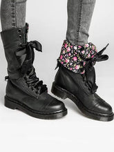 Load image into Gallery viewer, Cool Pu Leather Lace-Up Middle Martin Boots-BelleChloe-o1o.store