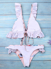 Load image into Gallery viewer, Pink Push-Up Padded Bikini Swimsuit-BelleChloe-o1o.store