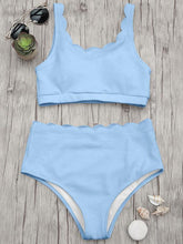Load image into Gallery viewer, Shoulder Solid Color Split Swimsuit-BelleChloe-o1o.store