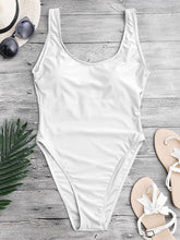 Load image into Gallery viewer, Solid Color Sexy One Piece Swimsuit-BelleChloe-o1o.store