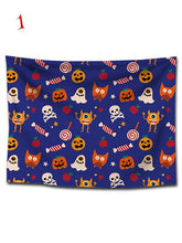 Load image into Gallery viewer, Halloween Ghosts Print Tapestry Wall Art-BelleChloe-o1o.store