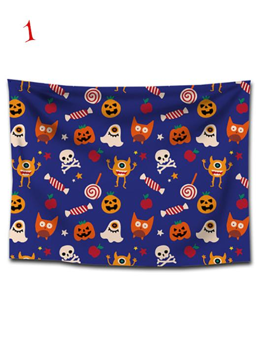 Halloween Ghosts Print Tapestry Wall Art-BelleChloe-o1o.store