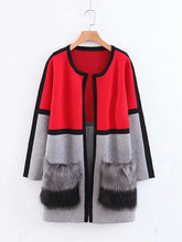 Load image into Gallery viewer, 【Quality】Casual Color Block Patchwork Cardigan-BelleChloe-o1o.store