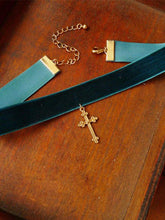 Load image into Gallery viewer, Vintage Golden Cross Necklace-BelleChloe-o1o.store
