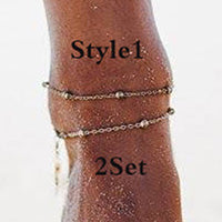 Load image into Gallery viewer, Double-layered Anklet-o1o.store-o1o.store