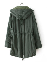 Load image into Gallery viewer, [Quality] Thick Female Midium-Long Hood Cotton Coat-BelleChloe-o1o.store