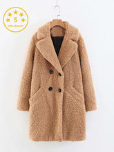 Load image into Gallery viewer, 【Quality】Teddy texture Medium Long Coats-BelleChloe-o1o.store