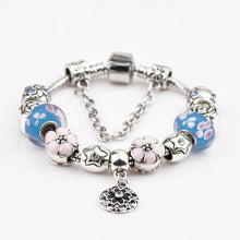Load image into Gallery viewer, DIY Beaded Bracelet - Cherry Blossoms-o1o.store-o1o.store
