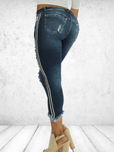 Load image into Gallery viewer, Low Waist Hole Fashion Jeans-BelleChloe-o1o.store