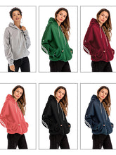 Load image into Gallery viewer, 2018 Autumn And Winter New Bat Hooded Pullover Pocket-o1o.store-o1o.store