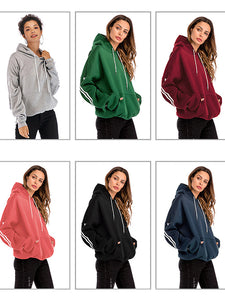 2018 Autumn And Winter New Bat Hooded Pullover Pocket-o1o.store-o1o.store
