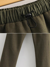 Load image into Gallery viewer, 【Quality】Elastic Waist Wild Solid Color Nine Pants-BelleChloe-o1o.store