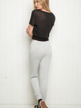Load image into Gallery viewer, 【Quality】Belt Sports Cotton Casual Pants-BelleChloe-o1o.store