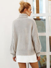 Load image into Gallery viewer, Long Sleeve Pullover Turtleneck Loose Casual Sweaters-BelleChloe-o1o.store